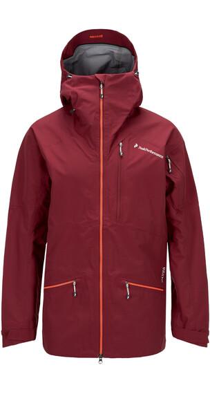 Peak Performance M's Radical 3L Jacket Cabernet